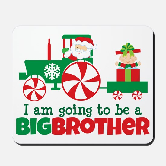 Santa Tractor Big Brother To Be Mousepad