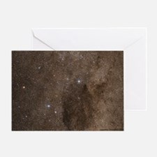 The Southern Cross and Coal Sack Greeting Card