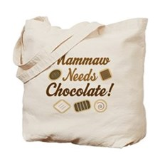 Mammaw Chocolate Tote Bag