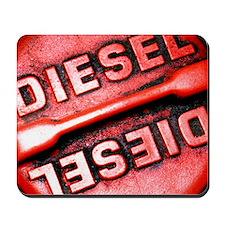 Diesel fuel cap Mousepad