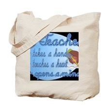 Teacher takes a hand BL Tote Bag