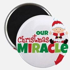 Our Christmas Miracle Magnet