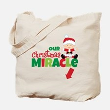 Our Christmas Miracle Tote Bag