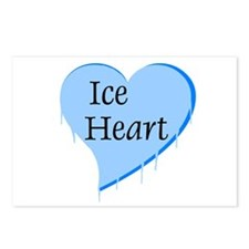 Ice Heart Postcards (Package of 8)