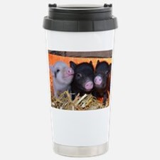 3 Little Pigs Stainless Steel Travel Mug