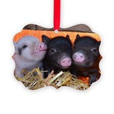 3 Little Pigs Ornament