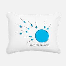 ready for business Rectangular Canvas Pillow