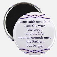 Bible Verse John 14 6 Magnet