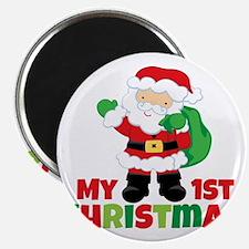 Santa Babies 1st Christmas Magnet