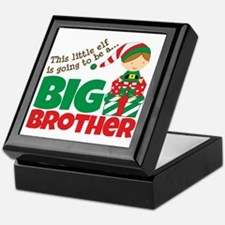 Elf going to be a Big Brother Keepsake Box