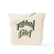 Vagabond Girl Logo Tote Bag