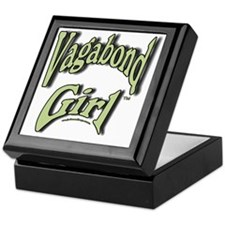 Vagabond Girl Logo Keepsake Box