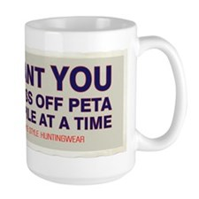 Gut Pile Sam Anti Peta Bumper Mug