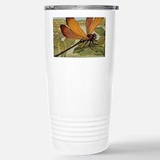 Dragonfly Painting Travel Mug