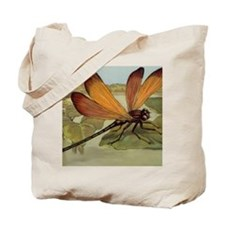 Dragonfly Painting Tote Bag