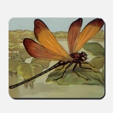 Dragonfly Painting Mousepad