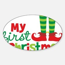 Christmas stickers babys first christmas sticker designs label