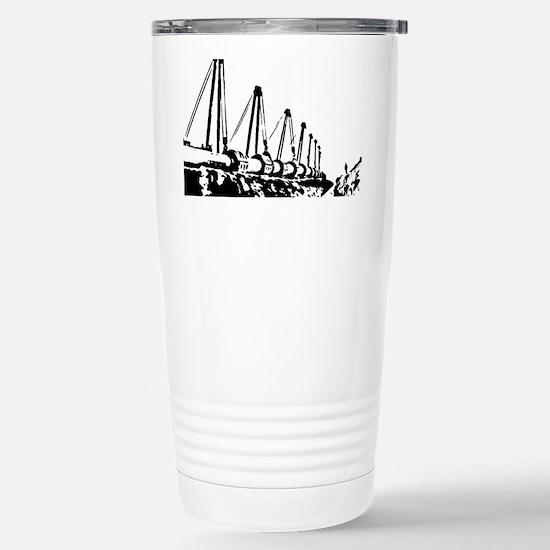 The Pipeline Stainless Steel Travel Mug