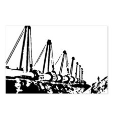 The Pipeline Postcards (Package of 8)