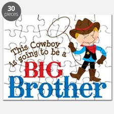 Cowboy Big Brother To Be Puzzle