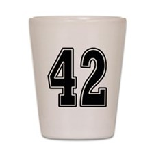 Forty-two Shot Glass