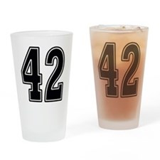 Forty-two Drinking Glass