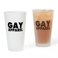Gay Apparel Drinking Glass