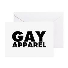 Gay Apparel Greeting Card
