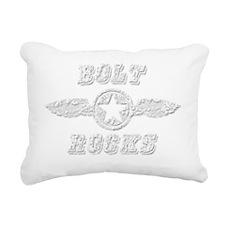 BOLT ROCKS Rectangular Canvas Pillow