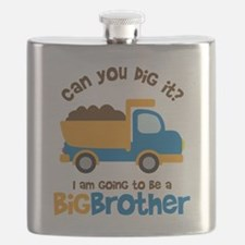 Dump truck Big Brother To Be Flask