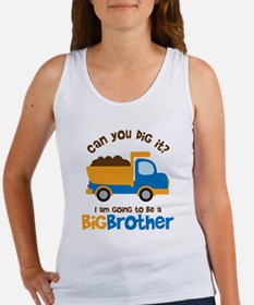 Dump truck Big Brother To Be Women's Tank Top