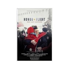Honor Flight Movie Poster Rectangle Magnet