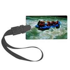 White water rafting Luggage Tag