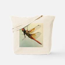 Watercolor Dragonfly Tote Bag