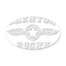 BRENTON ROCKS Oval Car Magnet