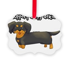 I Support Derpy Doxies Ornament