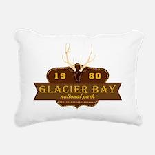 Glacier Bay National Par Rectangular Canvas Pillow