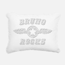 BRUNO ROCKS Rectangular Canvas Pillow