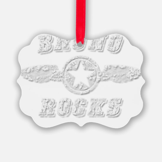 BRUNO ROCKS Ornament