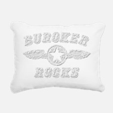 BUROKER ROCKS Rectangular Canvas Pillow