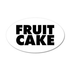Fruitcake Wall Decal