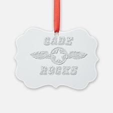 CADE ROCKS Ornament