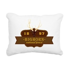 Bighorn National Park Cr Rectangular Canvas Pillow