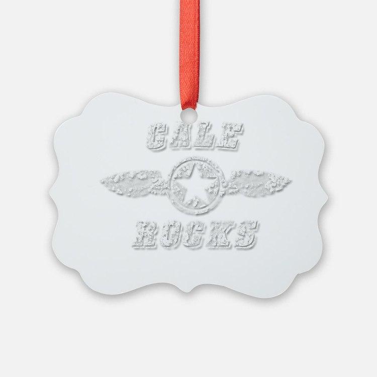 CALE ROCKS Ornament