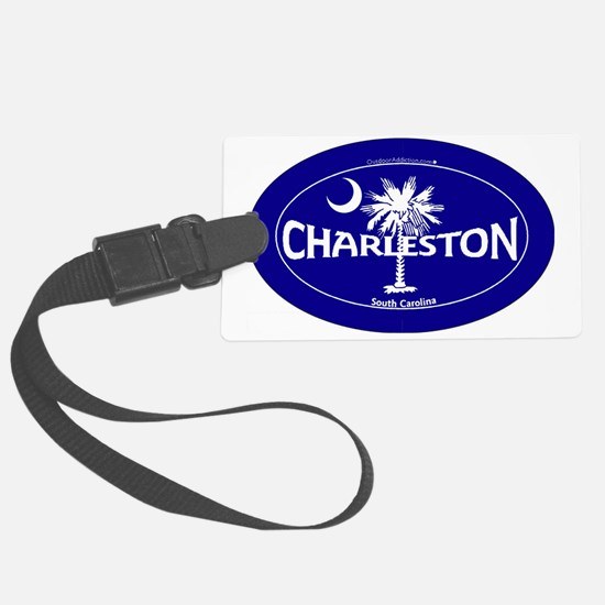 Charleston South Carolina Sticke Luggage Tag