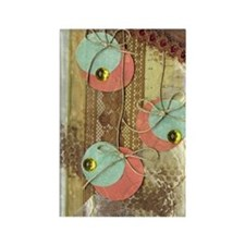 Ornaments Collage Rectangle Magnet