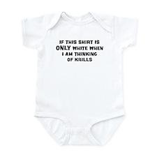 Thinking of Krills Infant Bodysuit