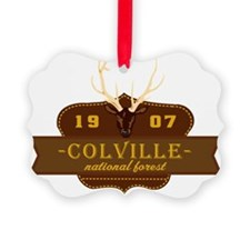 Colville National Park Crest Ornament
