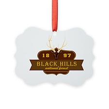 Black Hills National Park Crest Ornament
