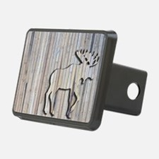 WoodenMooseRug Hitch Cover